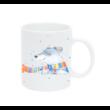 Pulee kerámia bögre névvel - Winter Friends - jegesmedve
