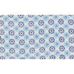 Mini pamutvászon csomag - Red and Blue flowers