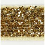 Csillámos dekorációs szalag - 5m - arany