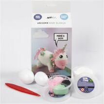 Csináld magad! Silk Clay gyurma szett - Unikornis - rózsaszín