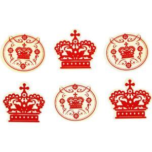 Öntapadós fa furnér dekorációs csomag - Copenhagen Crowns