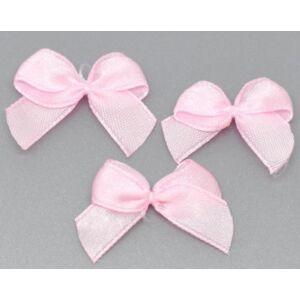 Rózsaszín szatén masni csomag
