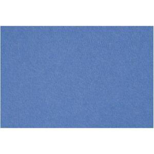 3mm vastag barkácsfilc - kék - A4