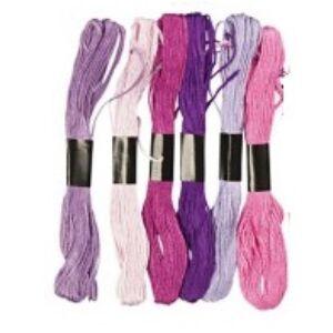 Osztott hímzőfonal válogatás - Purple Harmony