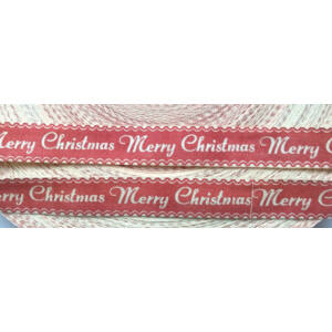 100% pamut szalag - Merry Christmas