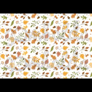Mintás barkácsfilc - őszi makkos