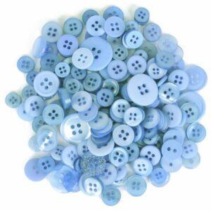 Trimits Bag of Craft Buttons - Light Blue