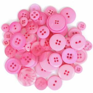 Trimits Bag of Craft Buttons - Light Pink