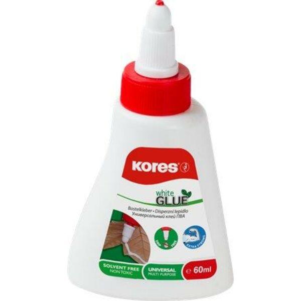 """Hobbyragasztó, 60 g, KORES """"White Glue"""""""