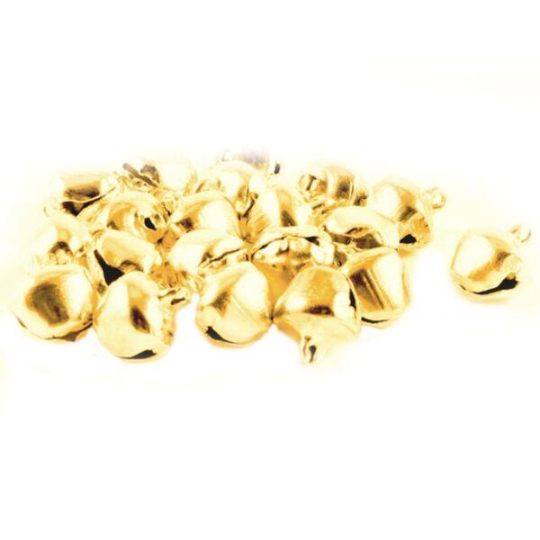 Arany színű fém csengettyű csomag