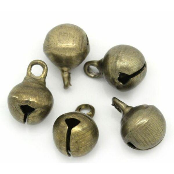 Fém csengettyű csomag - bronz