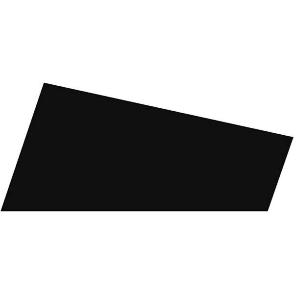 Dekorgumi - fekete