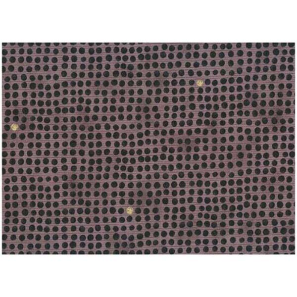 STOF fabric - Golden Elements – Dot Grid Black Lilac