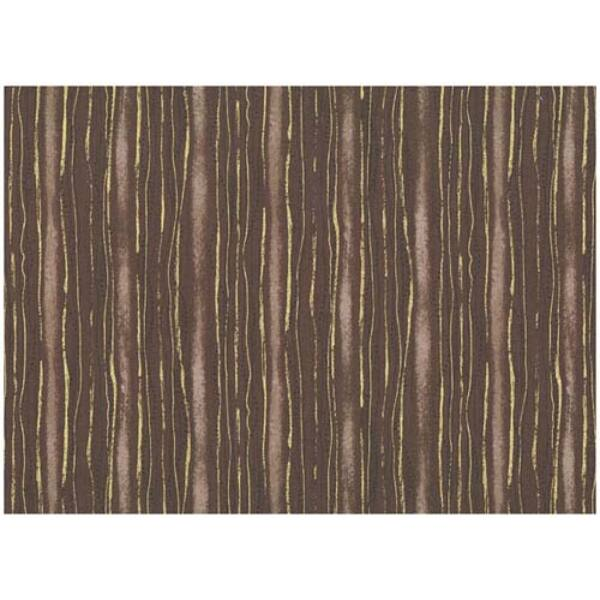 STOF fabric - Golden Elements – Dot Wave Stripe Brown