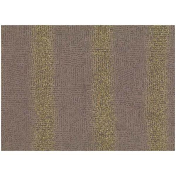 STOF fabric - Golden Elements – Newsprint Brown