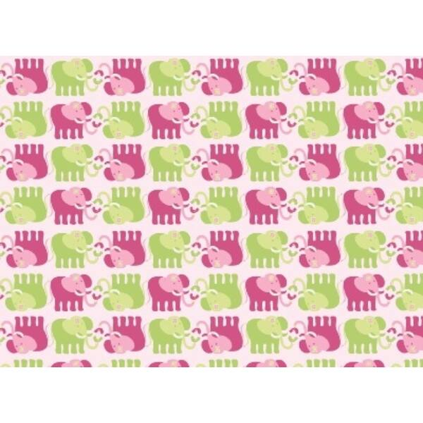 Northcott Fabric - Karma Baby - Elephants