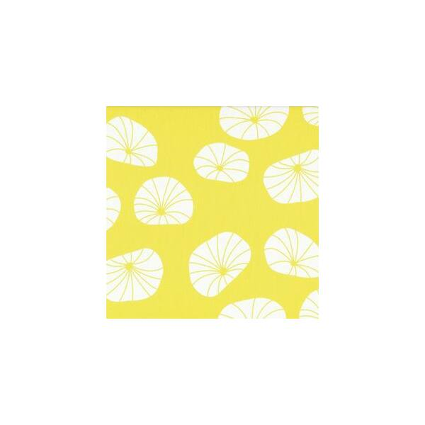 STOF fabric -  Floating Axes in Lemon