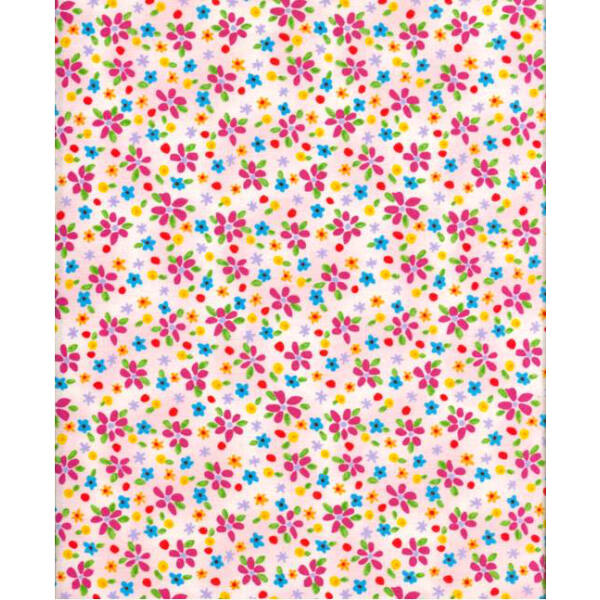 STOF fabric -  Lizzy Fay - Floral Scatter Rose