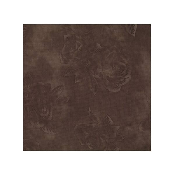 STOF fabric - Quilters Rose - Dark Brown