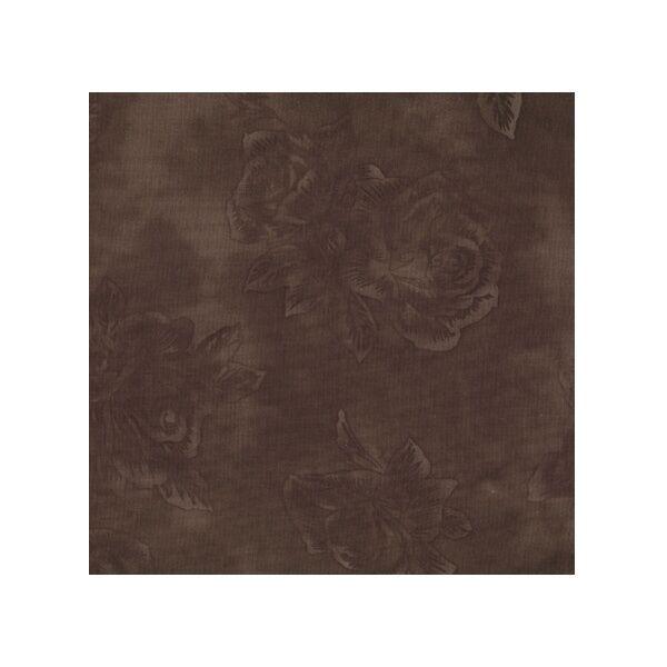 STOF fabric - Quilters Rose - Dark Brown