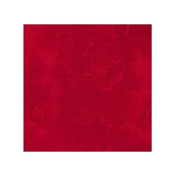 STOF fabric - Quilters Rose - Red