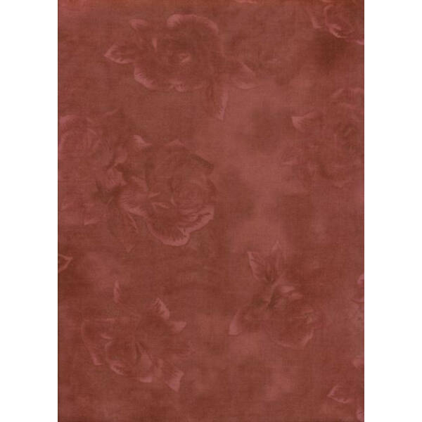 STOF fabric - Quilters Rose - Rose Brown