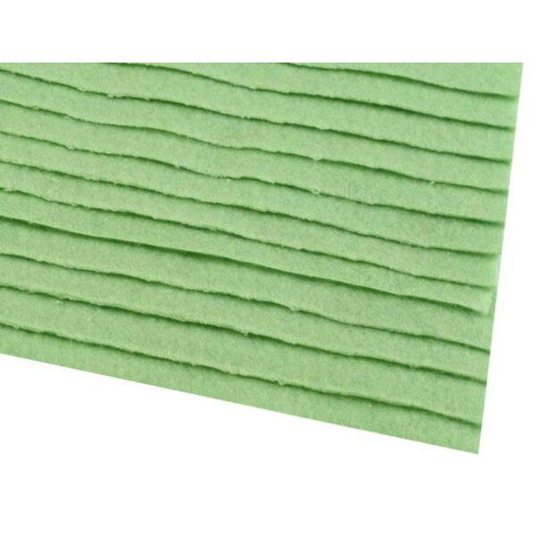 Pasztell zöld barkácsfilc - 20 x 30cm
