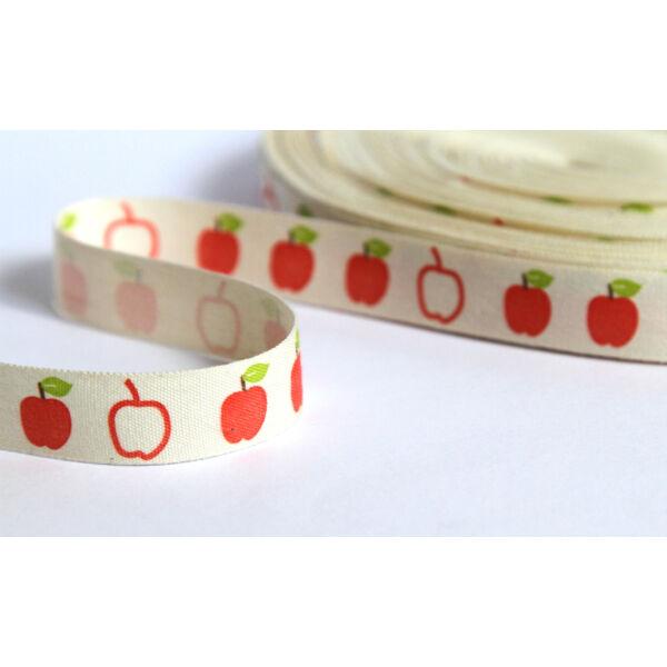 100% pamut szalag - alma