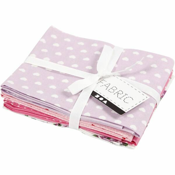 Pamutvászon csomag - lila rózsaszín