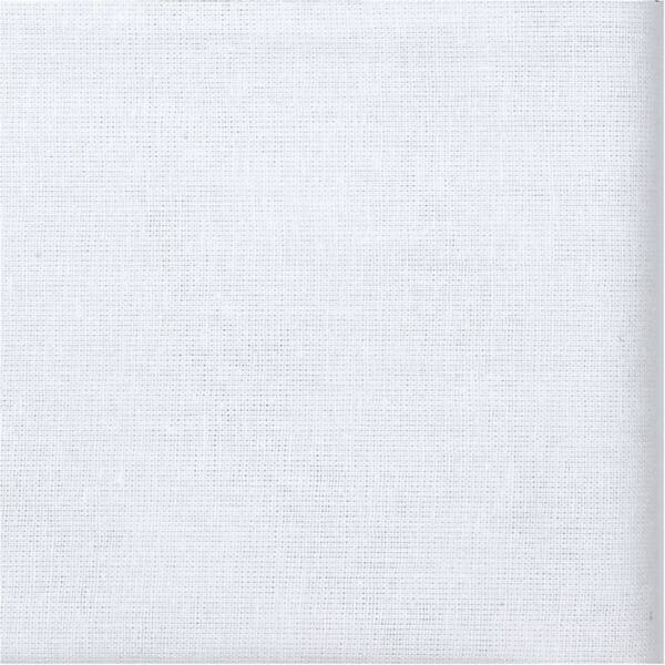 Organikus pamutvászon - fehér - 1,5m