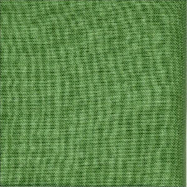 Organikus pamutvászon - sötétebb zöld