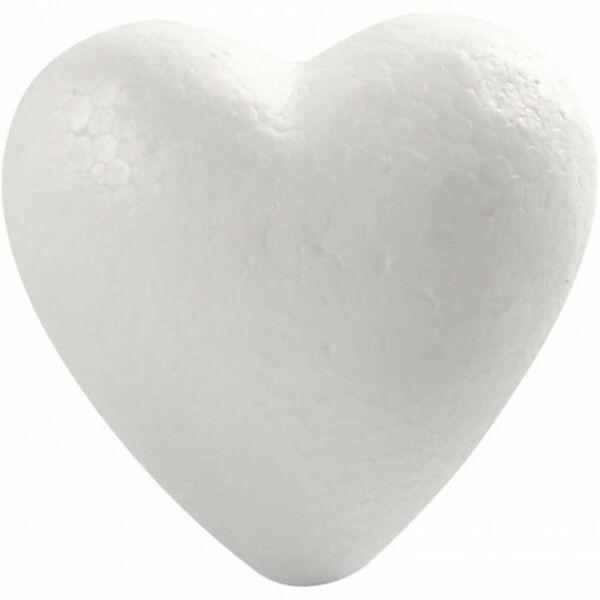 Polisztirol szív - 8cm