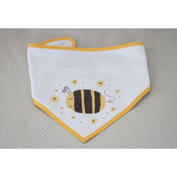 Pulee baba kendő nyálkendő - méhecske