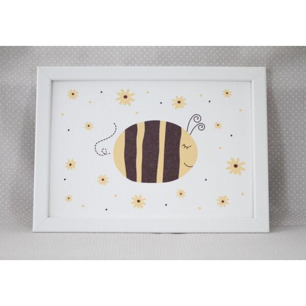 Pulee vászon kép keretben - méhecske