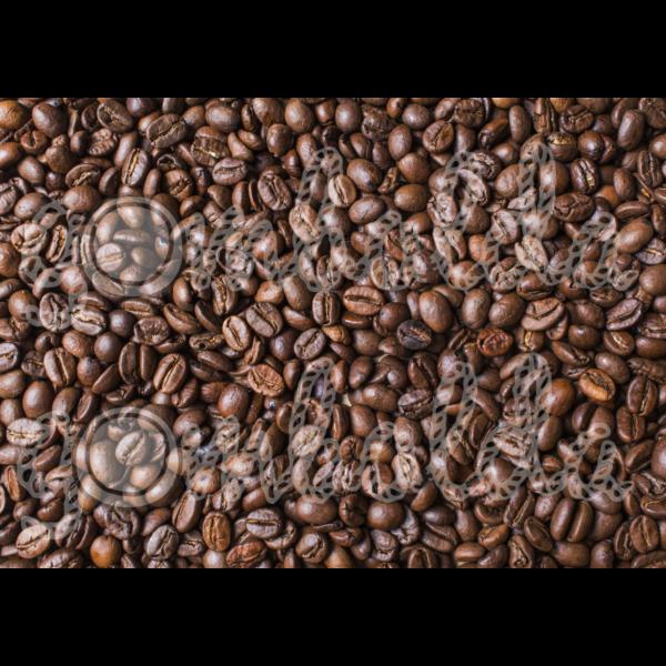 Mintás barkácsfilc - kávé