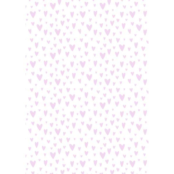Mintás barkácsfilc - varázslatos unikornis - L széria - szíves minta