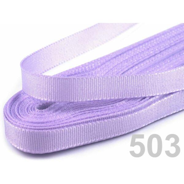 Taft szalag - 6mm - 10m - világos lila