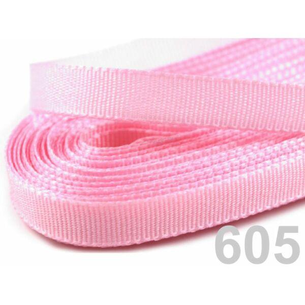 Taft szalag - 6mm - 10m - rózsaszín