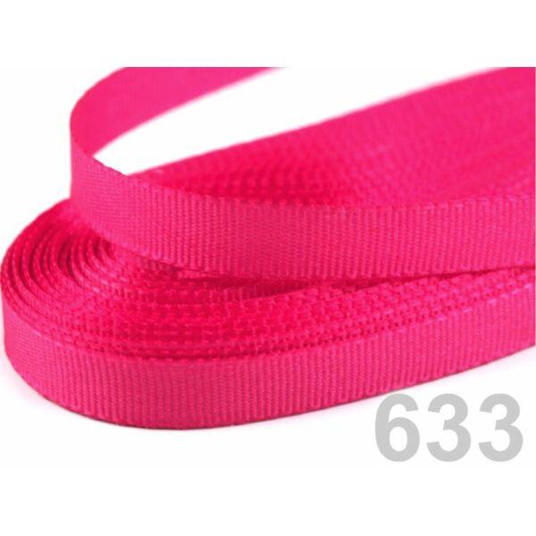 Taft szalag - 6mm - 10m - pink