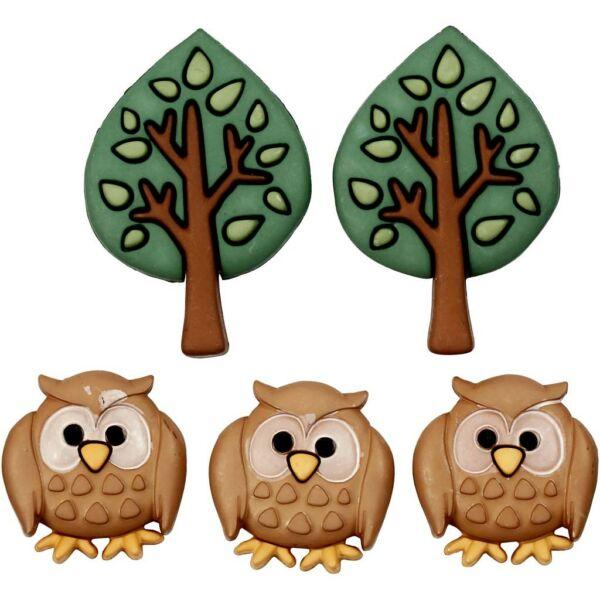 Dress It Up! formagombok - Night owls