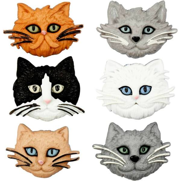 Dress It Up! formagombok - Fuzzy Felines