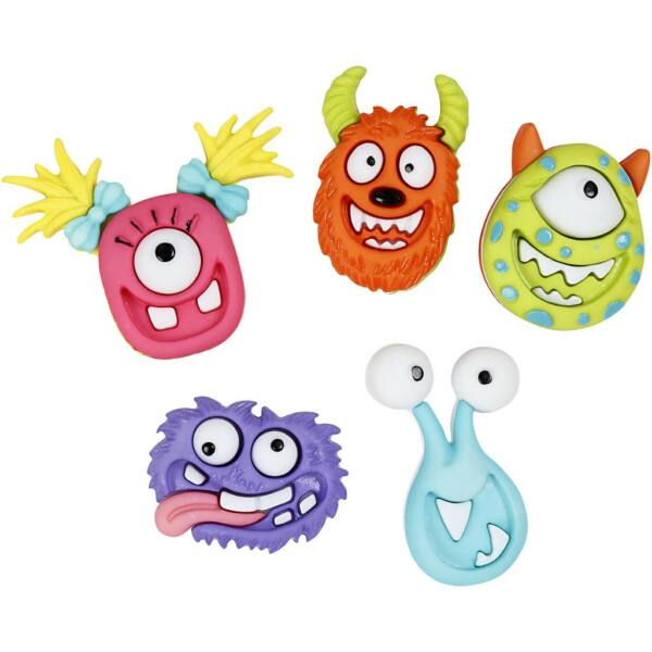 Dress It Up! formagombok - Monsters