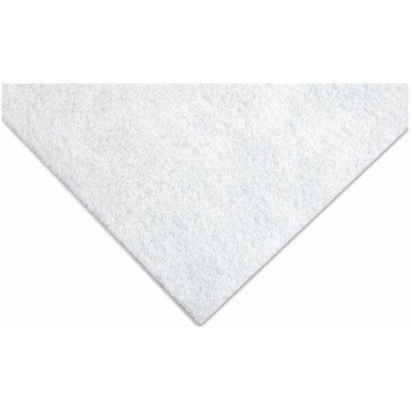 Csillámos barkácsfilc - fehér - PUHA