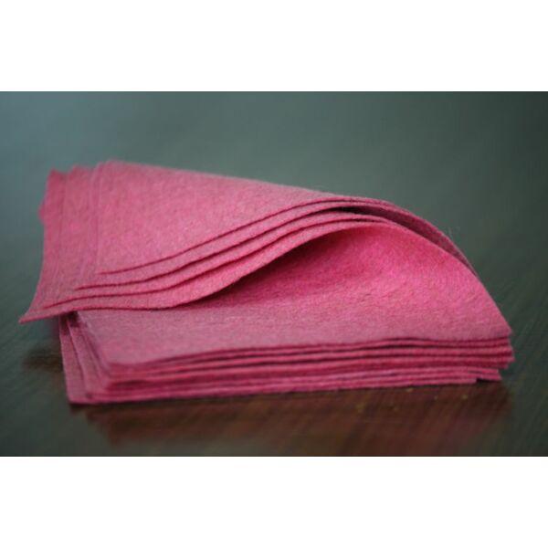 Pihe - puha gyapjúfilc lap - pink