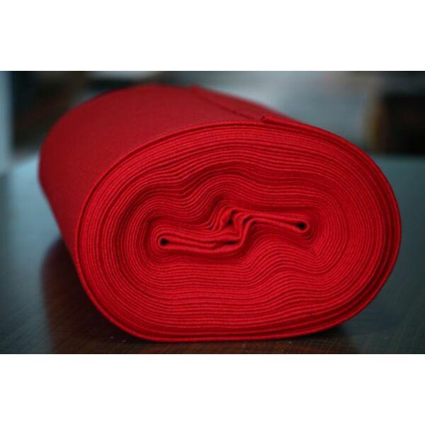 Pihe - puha gyapjúfilc méteráru - piros