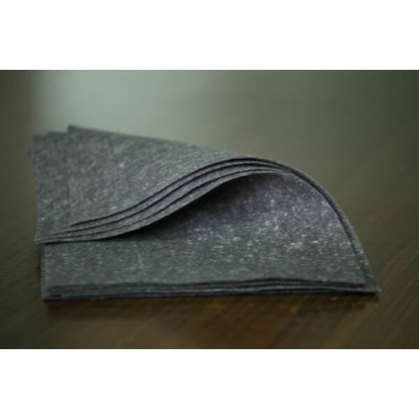 Pihe - puha gyapjúfilc lap - szürke márvány