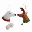 Csináld magad! szett - Christmas Deer & Polar Bear