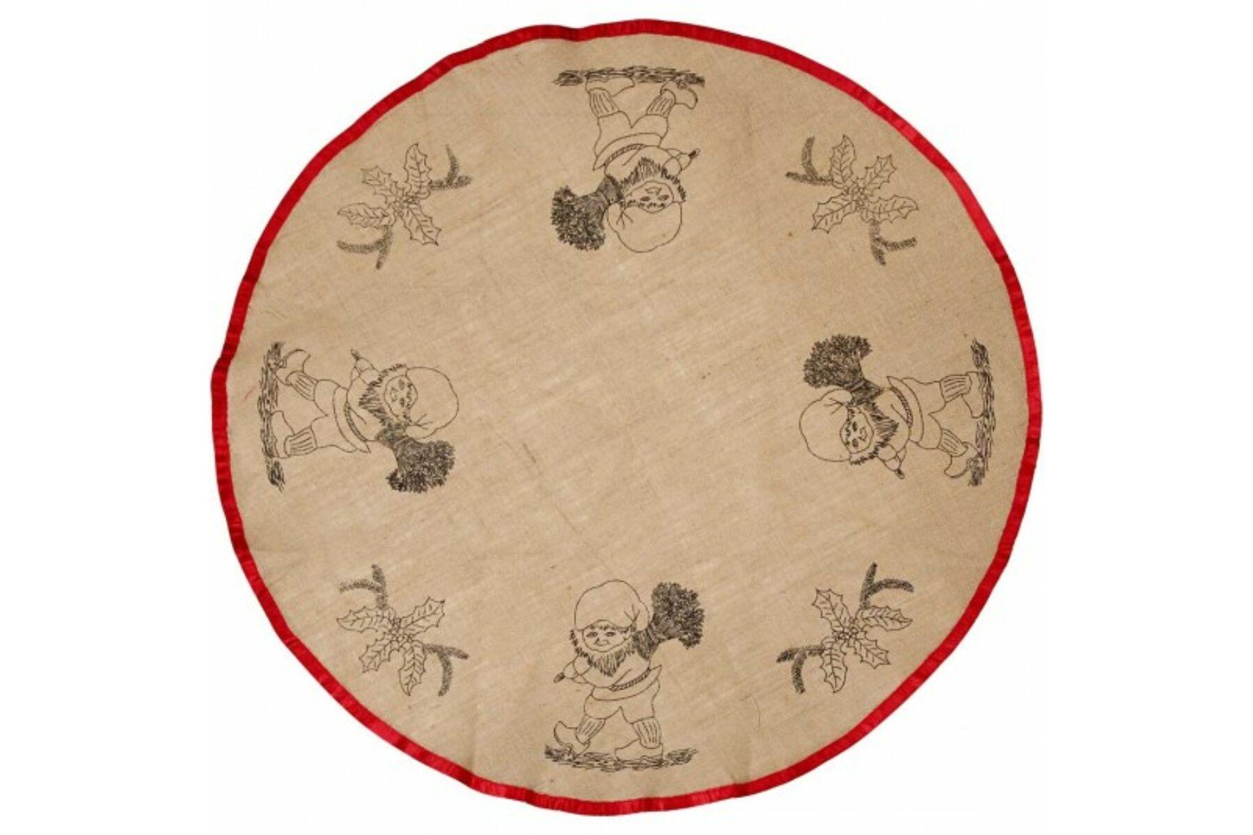 629388014c Karácsonyfa terítő - manó - Textilek - Gombolda Webáruház
