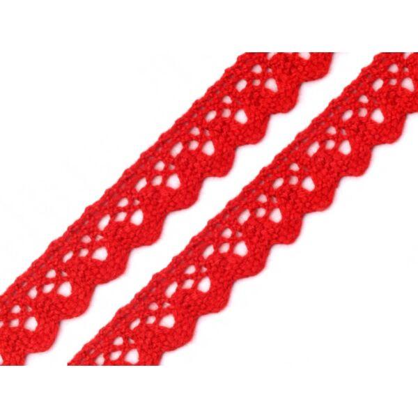 Piros pamut vertcsipke szalag