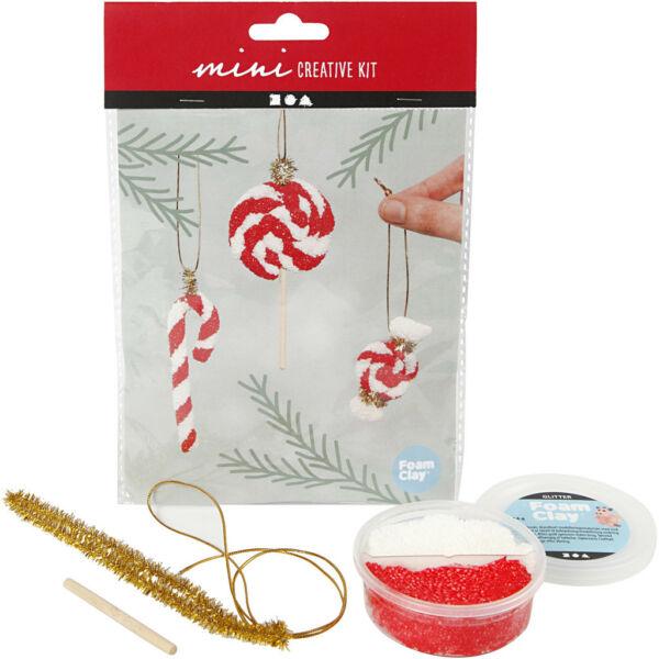 Mini Creative Kit - Csináld magad! karácsonyi cukorkák